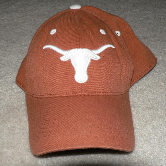 8f6df63a7 Vintage Texas Longhorns Burnt Orange Baseball Hat
